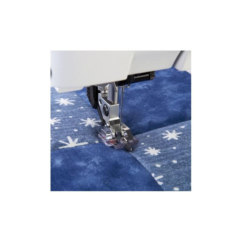 Prensatelas Pfaff transparente Stitch-in-Ditch con sistema IDT