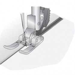 Prensatelas Pfaff abierto para aplicaciones de 6 mm con Sistema IDT