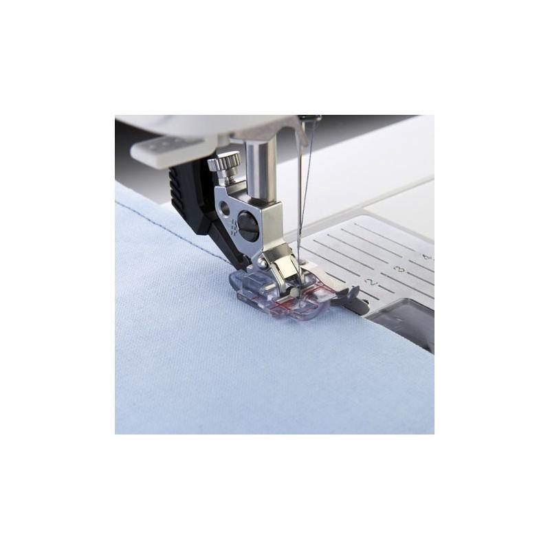 Prensatelas Pfaff Transparente de 6 mm con Guía a la Derecha y Sistema IDT