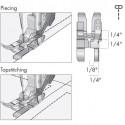 Prensatelas de 6 mm Pfaff con Guía a la Derecha para Patchwork y con sistema IDT