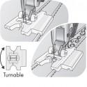 Prensatelas Pfaff para Pliegues de 9 mm con Guía de Puntadas Decorativas