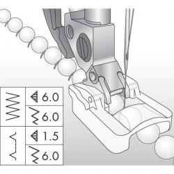 Prensatelas para Cuentas de 6 mm