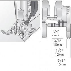 Prensatelas Pfaff con guía de costura con Sistema IDT