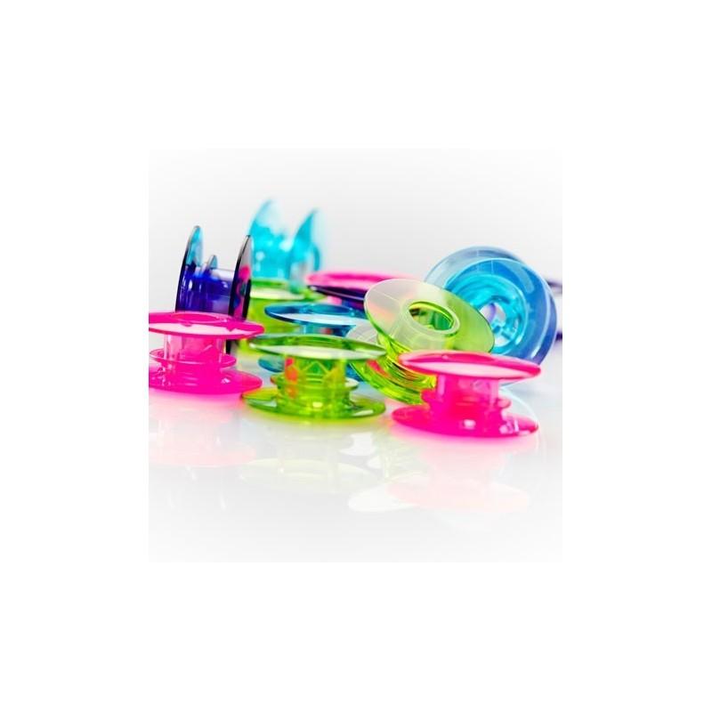 Canillas Pfaff 20 Unidades Color Acuarela