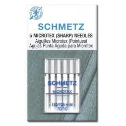 Schmetz 130-705 H M Aguja Puntada Fina Microtex