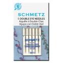 Schmetz 705 DE Aguja Doble Ojo