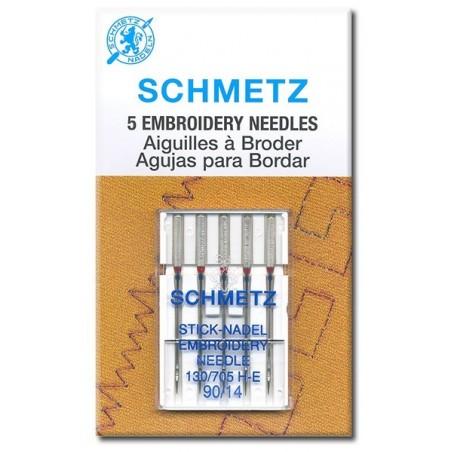 Schmetz 130 / 705 H-E Aguja Bordado