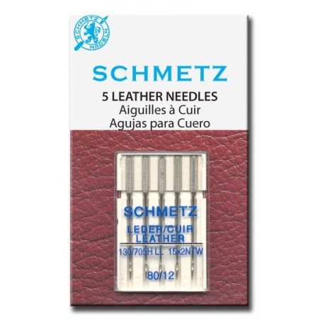 Schmetz 130 / 705 H LL Aguja para Cuero
