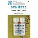 Schemtz 130 / 705 H-E ZWI NE 2,0 y 3,0 Aguja Bordado Doble