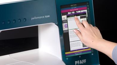 adila-costura- performance-icon-gran-pantalla-multitactil-con-una-interfaz-digital-inteligente